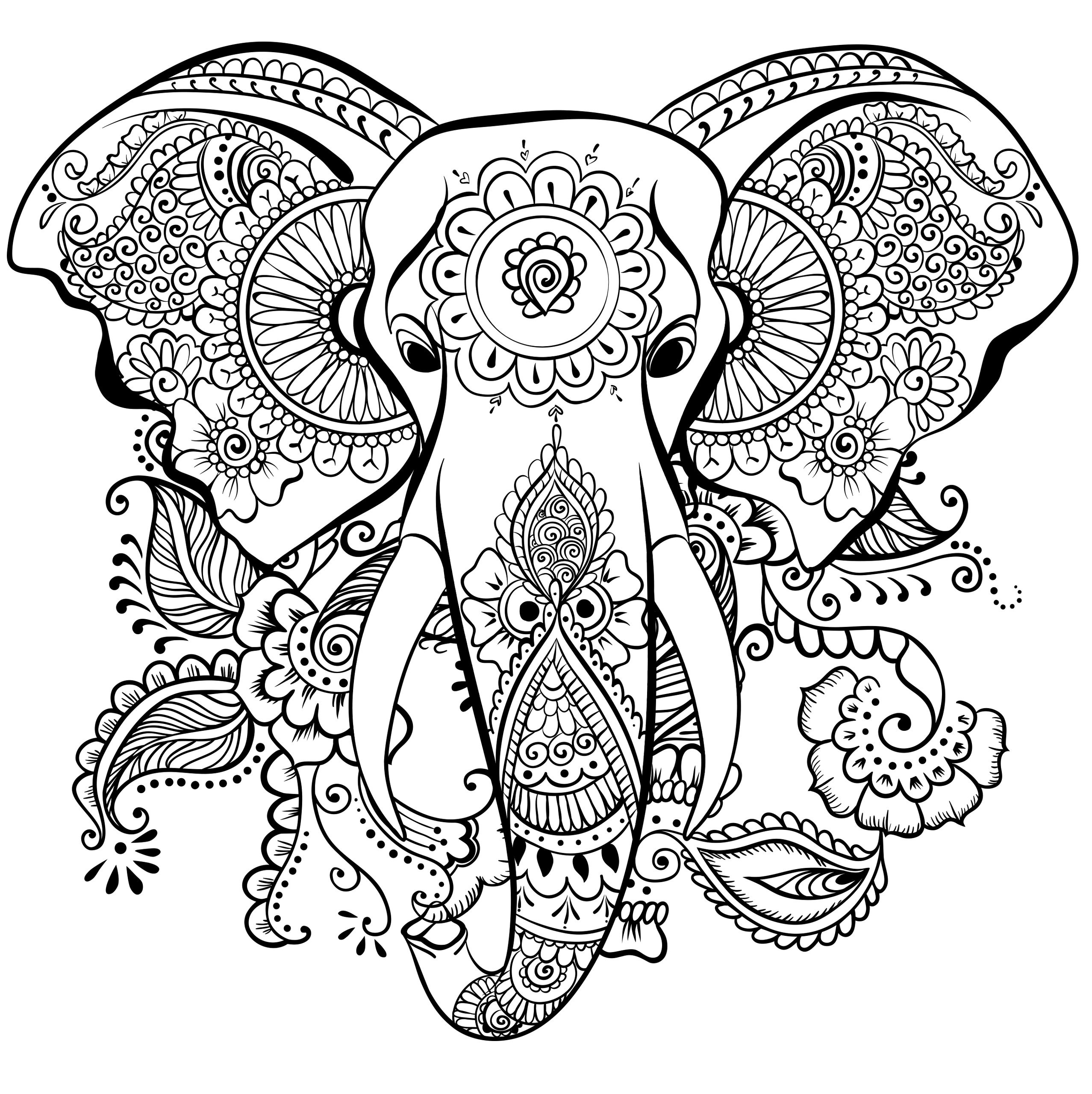 2555x2560 Great Coloring Pages For Adults Great Coloring Book Design