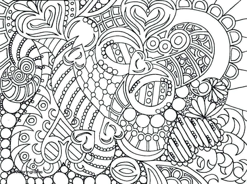 1024x766 Abstract Coloring Pages For Adults