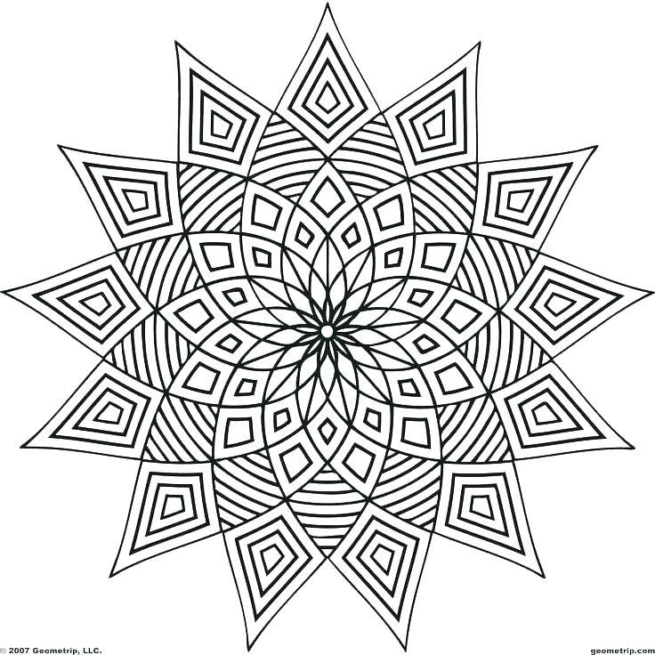 736x736 Coloring Pages Of Patterns