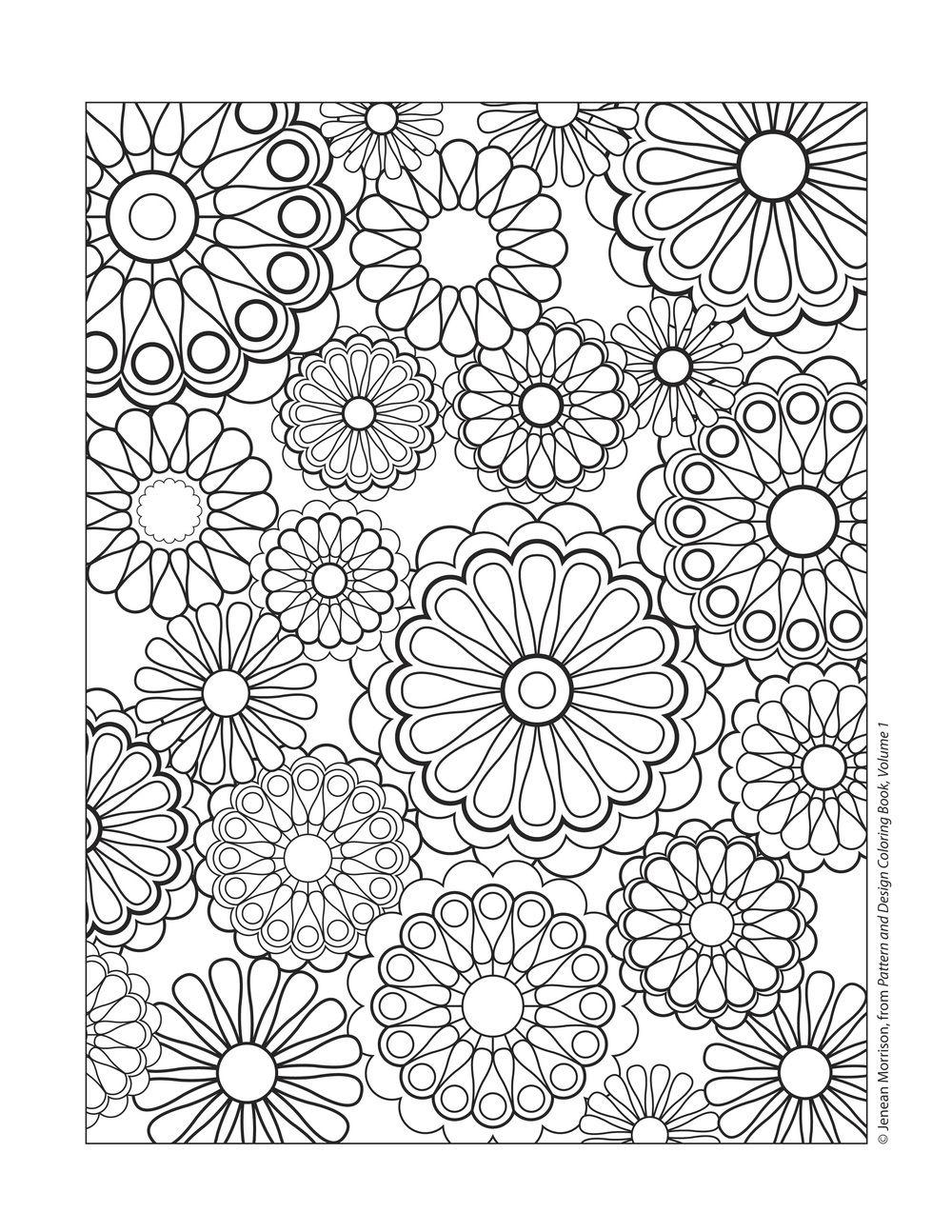 1000x1294 Coloring Sheet Designs