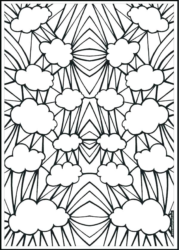 600x841 Free Geometric Pattern Coloring Pages Kids Coloring Coloring Pages