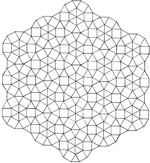 630x685 Geometric Coloring Pages For Adults
