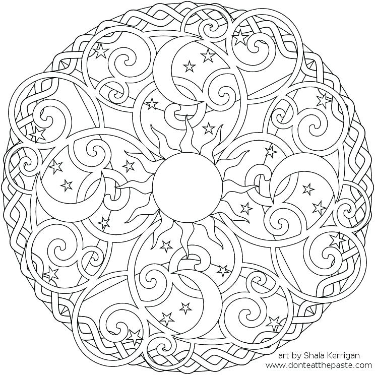 744x744 Cool Designs Coloring Pages Free Printable Coloring Pages Cool