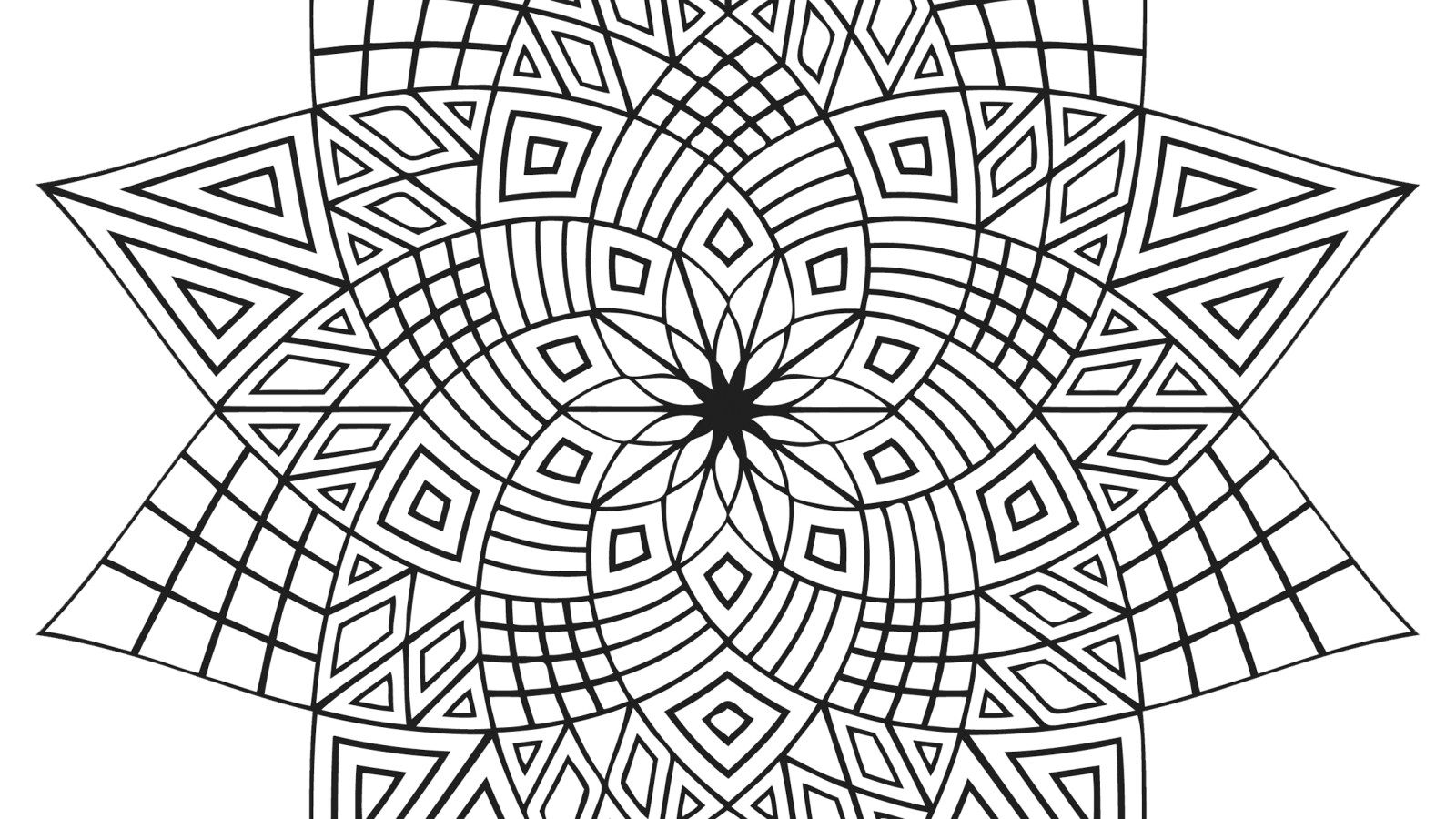 1600x900 Design Coloring Pages