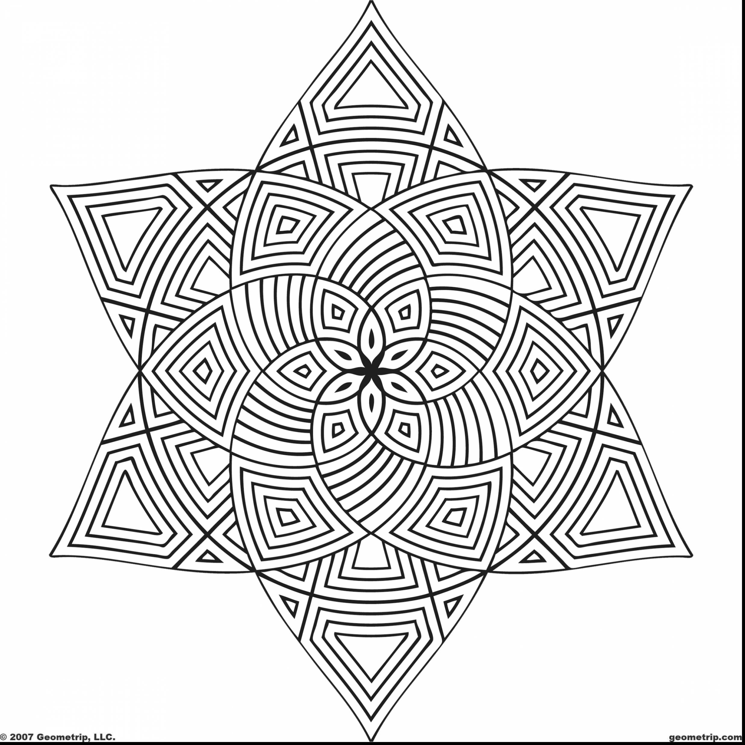 2475x2475 Free Printable Geometric Coloring Pages For Kids To Print