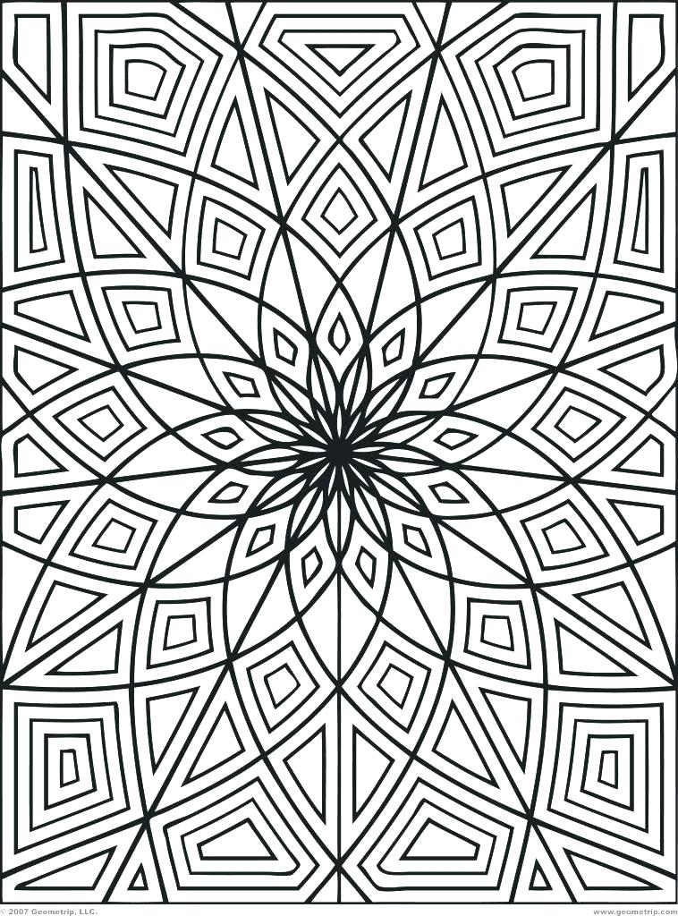 758x1024 Abstract Coloring Pages Printable Coloring Pages Of Designs