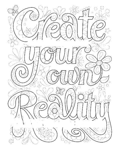 Design Your Own Coloring Pages