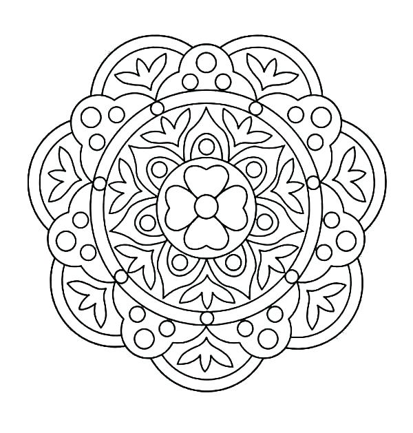 600x629 Design Coloring Pages Design Coloring Pages Also Adult Coloring