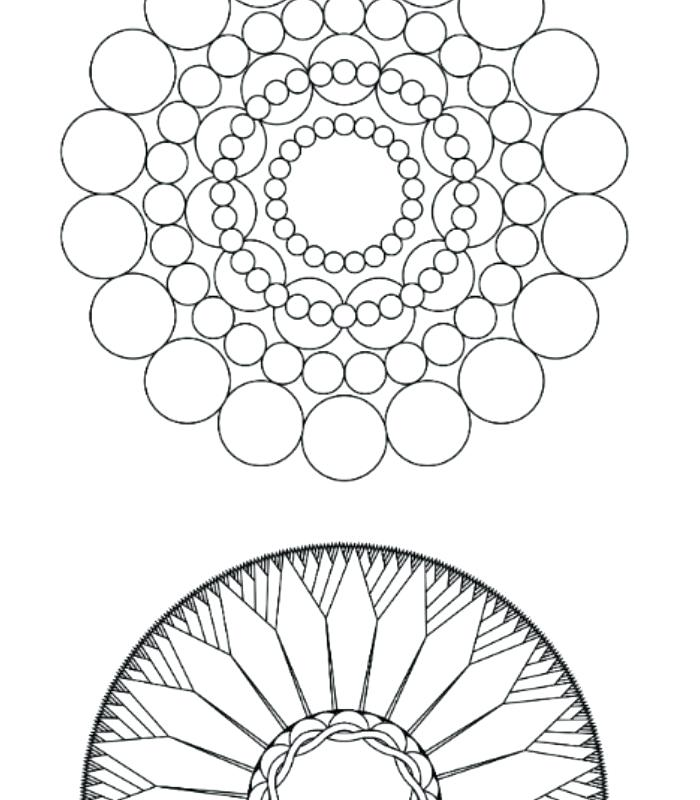 700x800 Print Your Own Coloring Pages How To Make Your Own Mandala