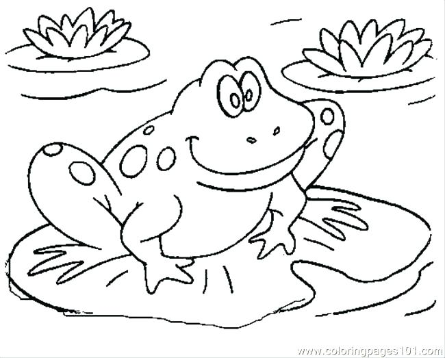 650x523 Leap Frog Coloring Pages Frog Coloring Pages Coloring Page