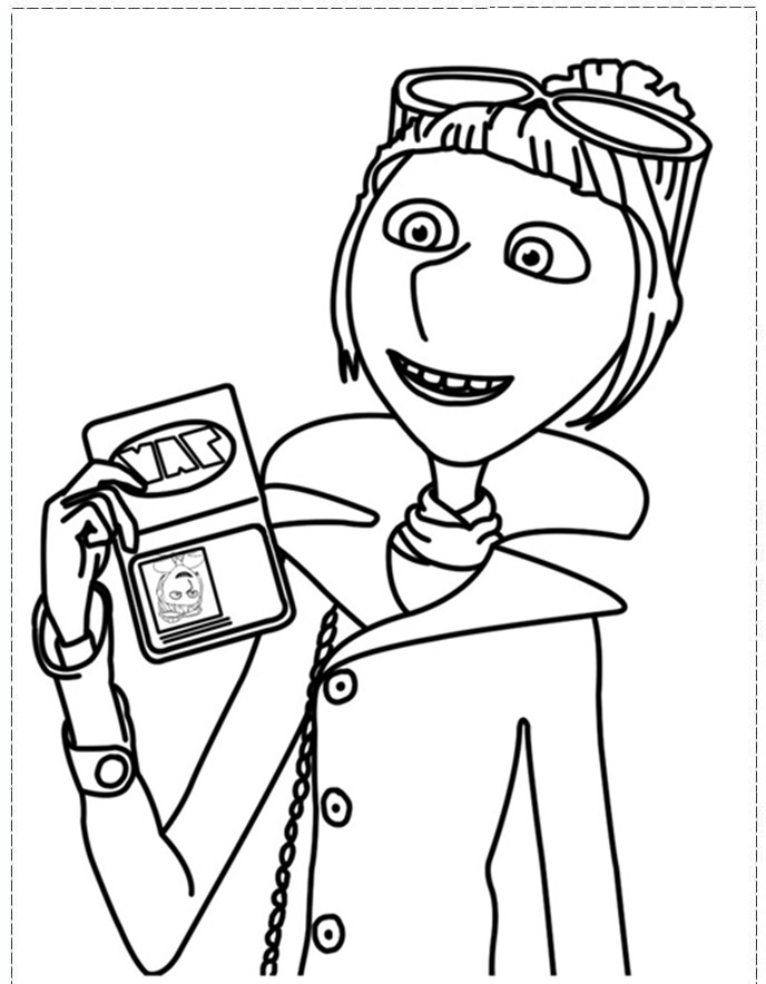 688x884 Despicable Me Coloring Pages Despicable Me Coloring Pages