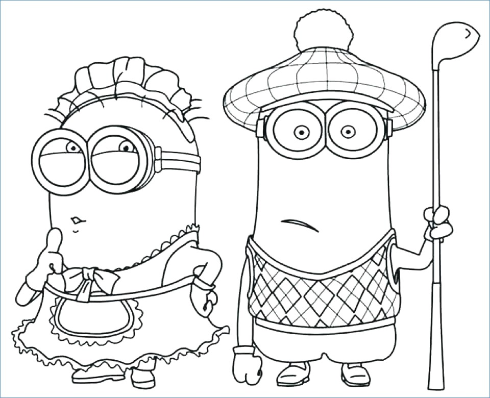 960x780 Despicable Me Minions Coloring Pages To Print