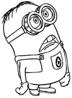 236x324 Download And Print Minion Girl Despicable Me Coloring Pages Pta