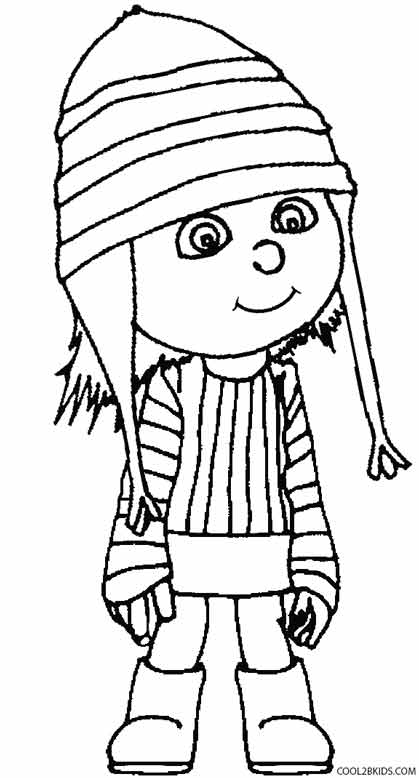 419x778 Printable Despicable Me Coloring Pages For Kids