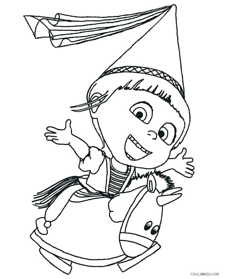 733x906 Free Printable Despicable Me Coloring Pages
