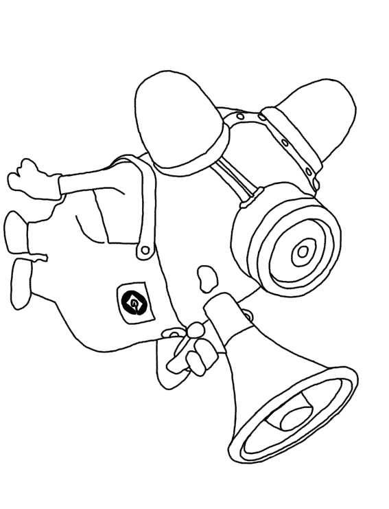 Despicable Me Unicorn Coloring Pages
