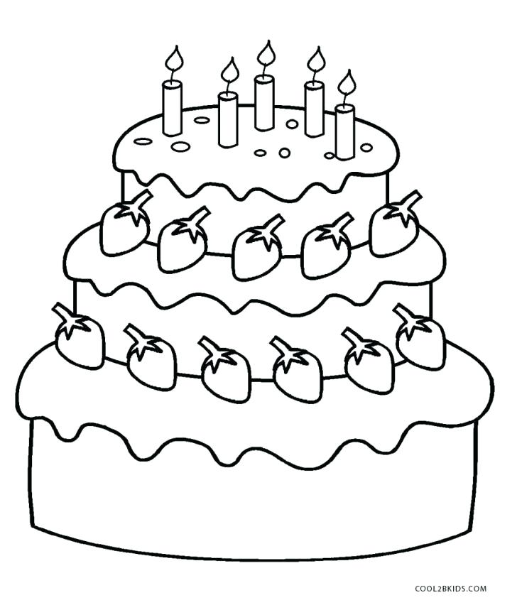 Dessert Coloring Pages At Getdrawings Com Free For
