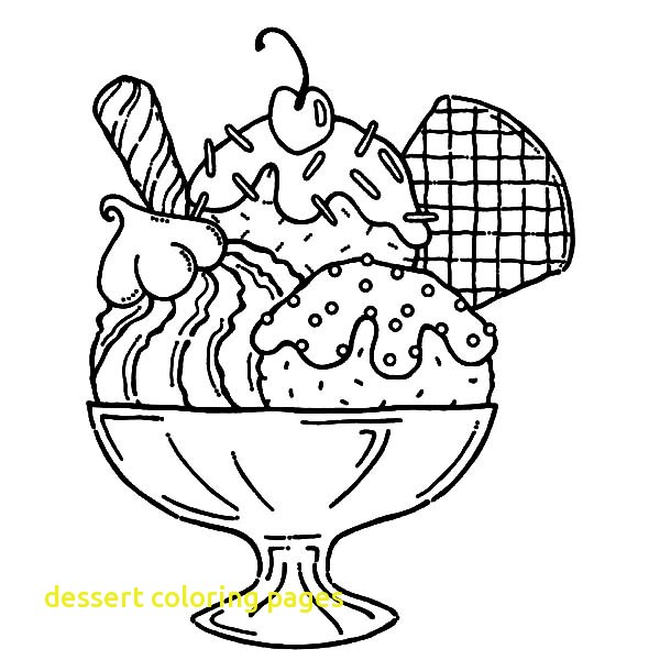 Dessert Coloring Pages At Getdrawings Free Download