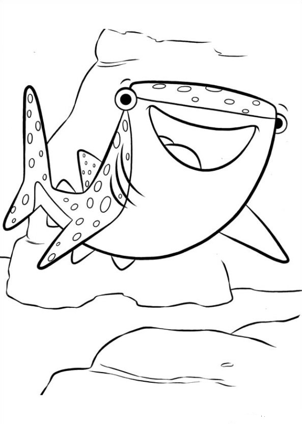 593x832 Kids N Coloring Pages Of Finding Dory
