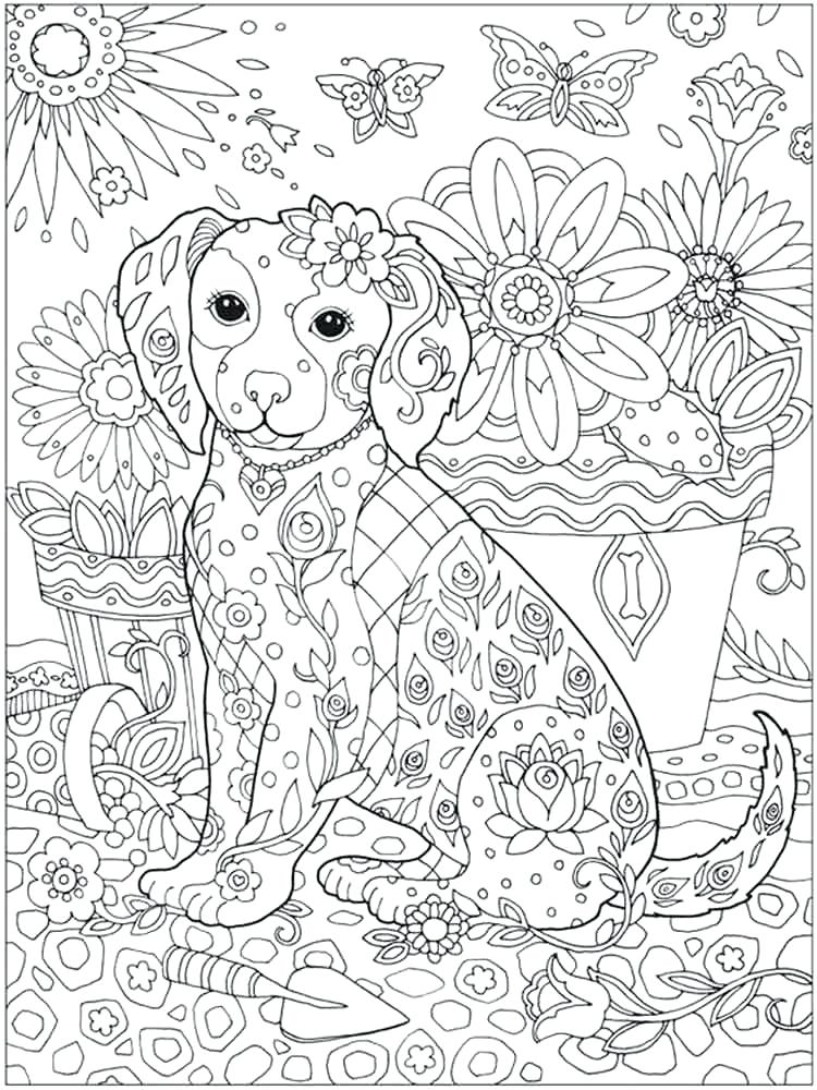 750x1000 Intricate Coloring Pages Intricate Coloring Pages Animals