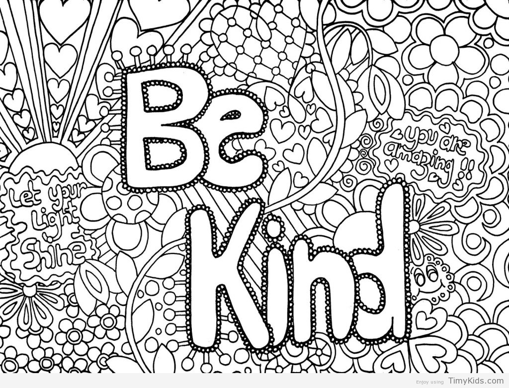 1024x781 Detailed Coloring Pages For Teenage Girls Timykids