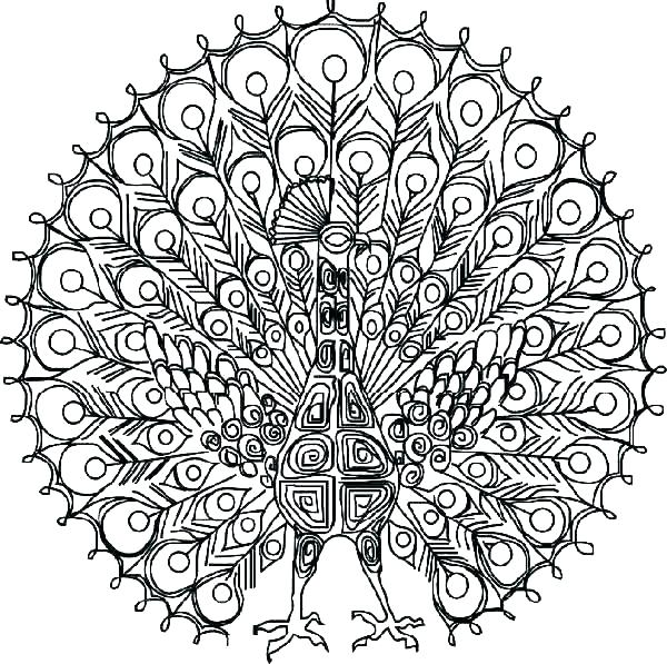 600x597 Very Detailed Coloring Pages