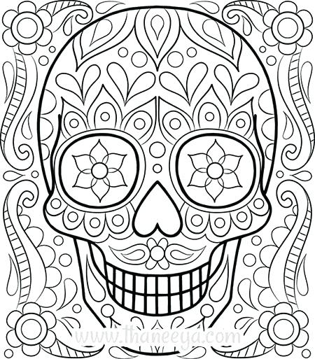 450x513 Detailed Coloring Pages Printable Detailed Color Pages Affan