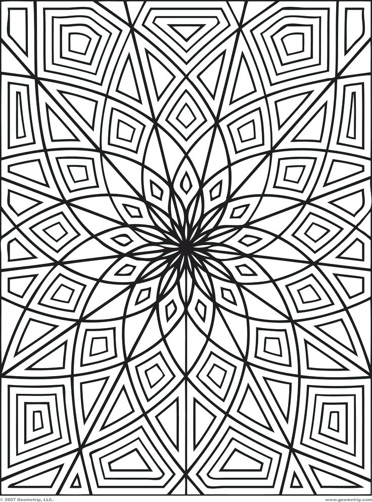 736x993 Detailed Coloring Pages For Older Kids Home Improvement Neighbor
