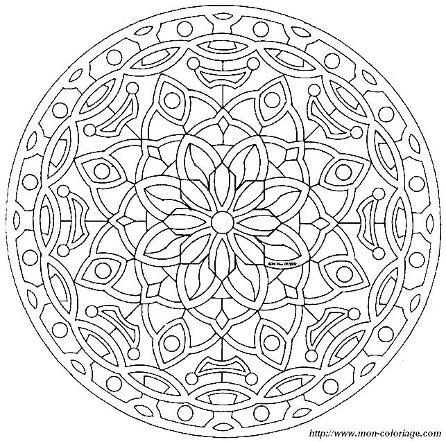 643x638 Intricate Coloring Pages Printable Intricate Coloring Page