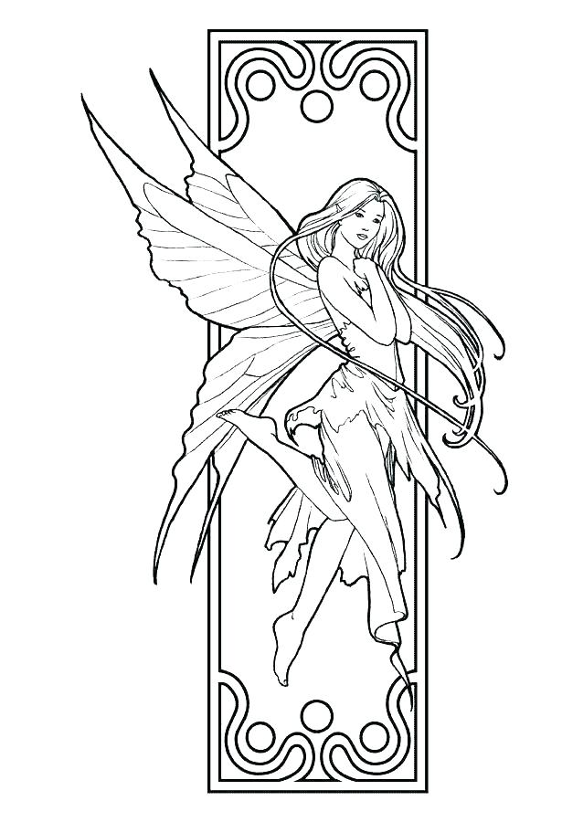 615x900 Fairy Coloring Pages To Print Fairy Coloring Pages To Print Fairy