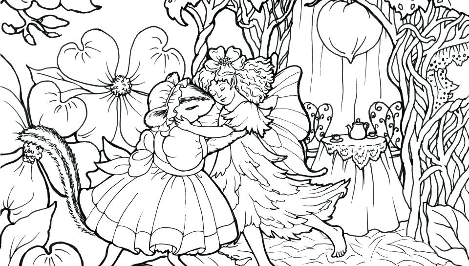 960x544 Free Printable Fairy Coloring Pages Anime Fairy Coloring Pages