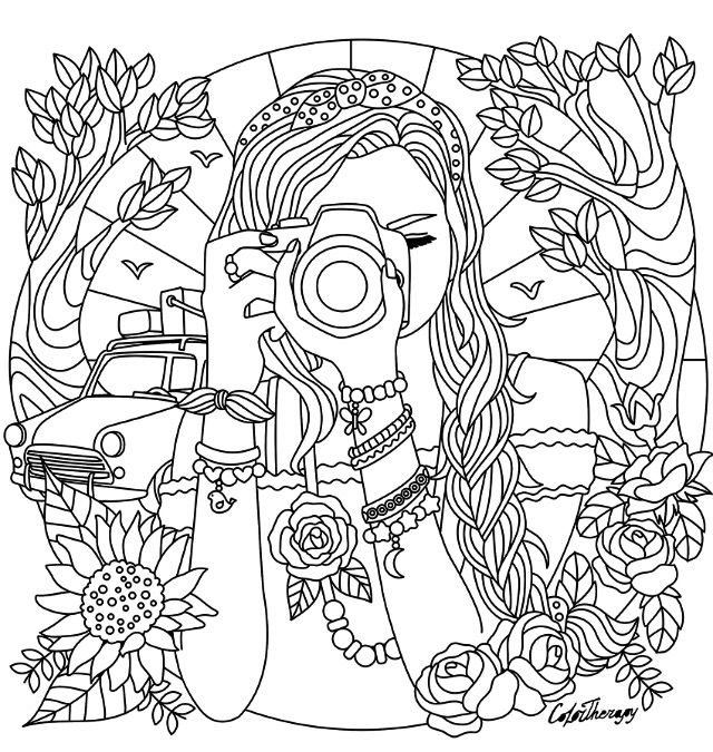 Detailed Disney Coloring Pages