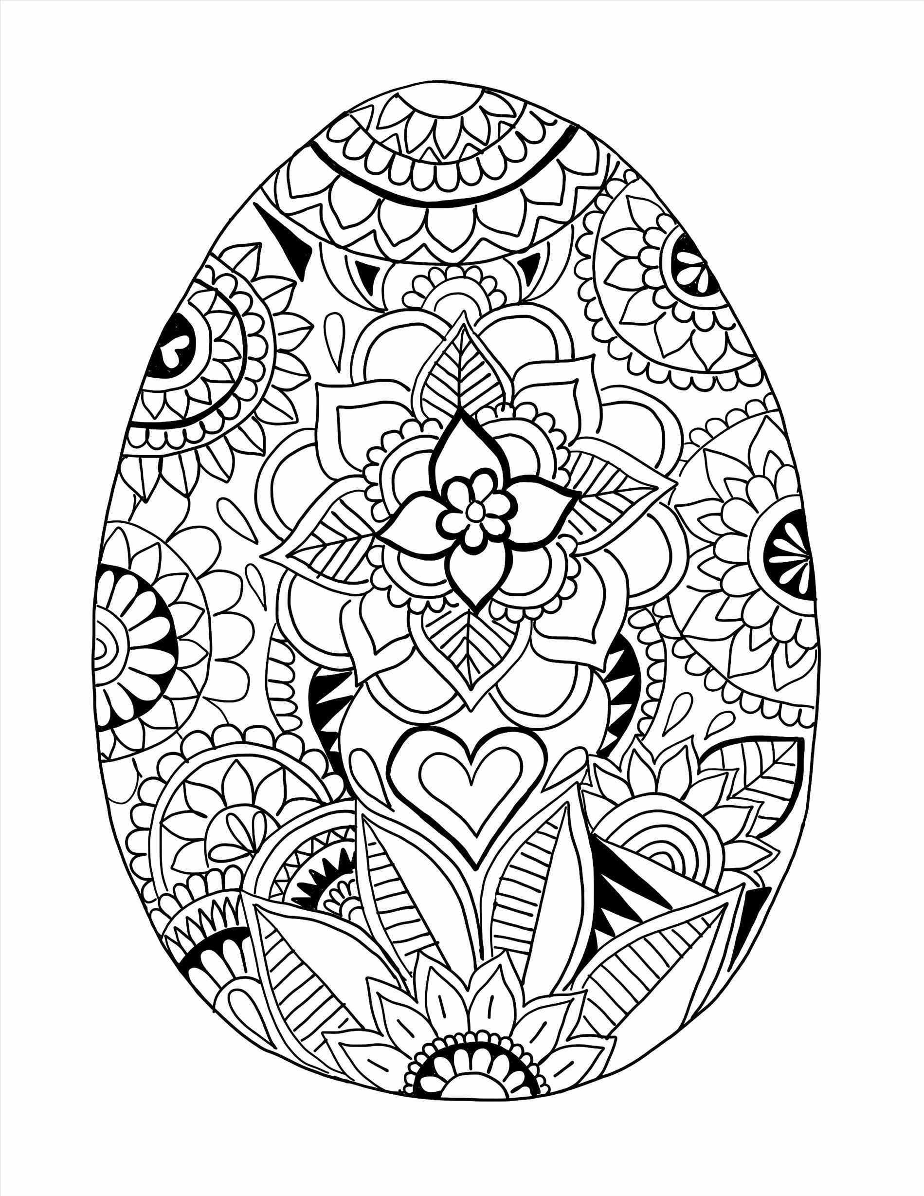 Detailed Easter Egg Coloring Pages at GetDrawings.com | Free ...