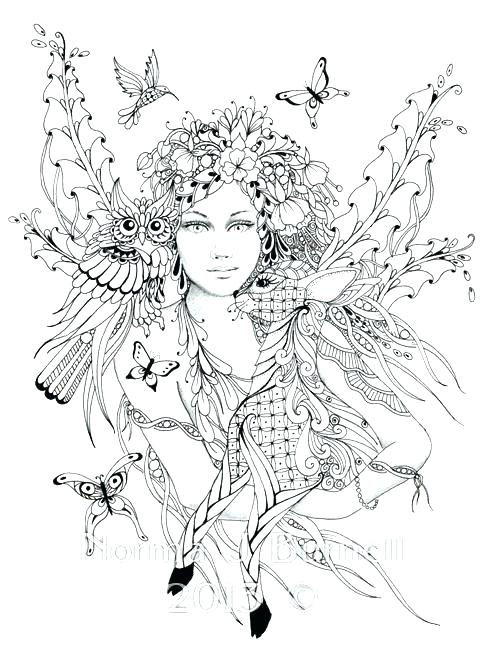 Detailed Fantasy Coloring Pages at GetDrawings.com | Free ...