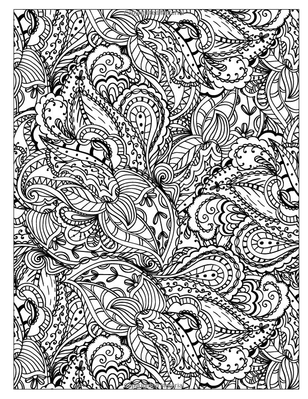 Detailed Pattern Coloring Pages