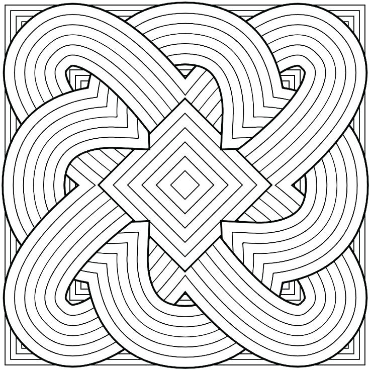 Detailed Pattern Coloring Pages At Getdrawings Free Download