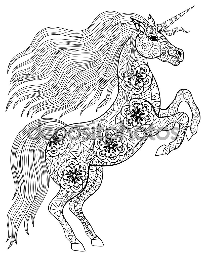 819x1024 Fresh Unicorn Mandala Coloring Pages Collection Printable