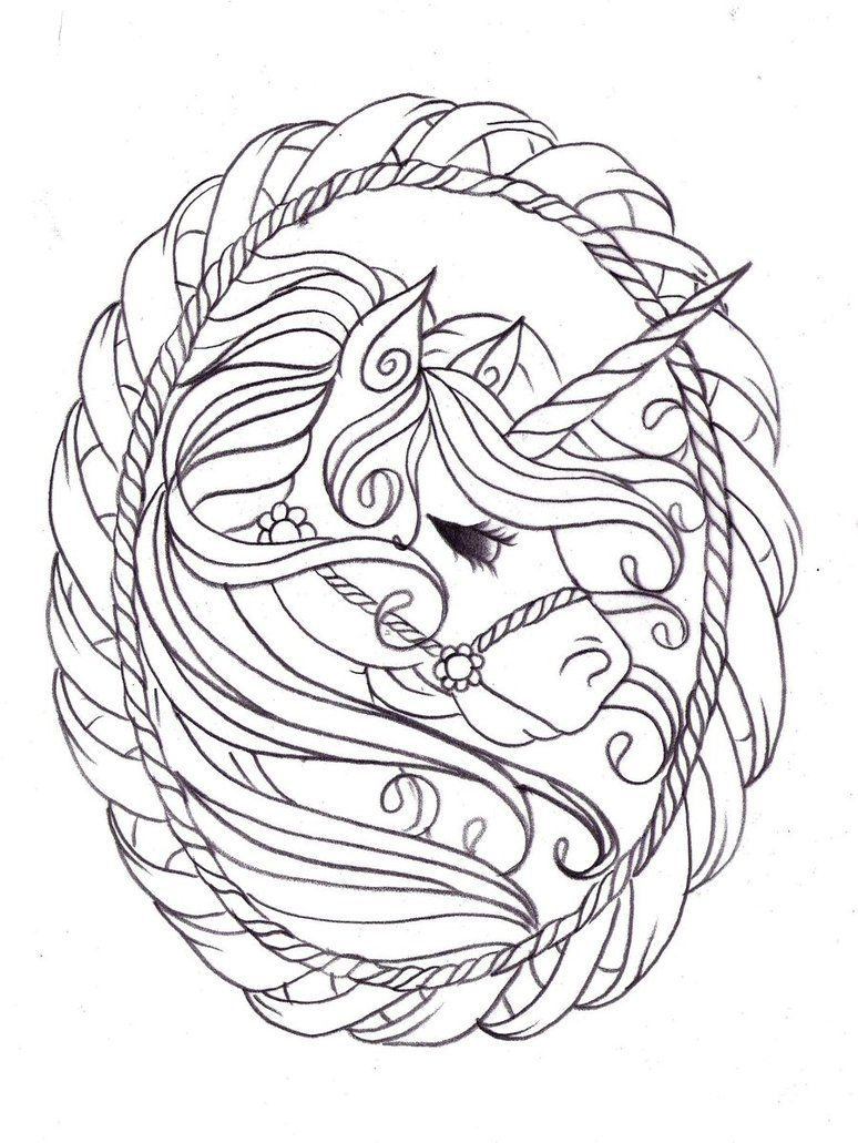 774x1031 Image Detail For Unicorn Coloring Pages For Kids
