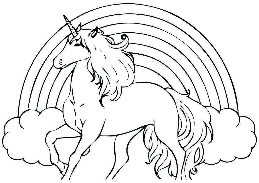 1024x724 Unicorn Coloring Pages Coloring Pages Of Unicorns Unicorn Coloring