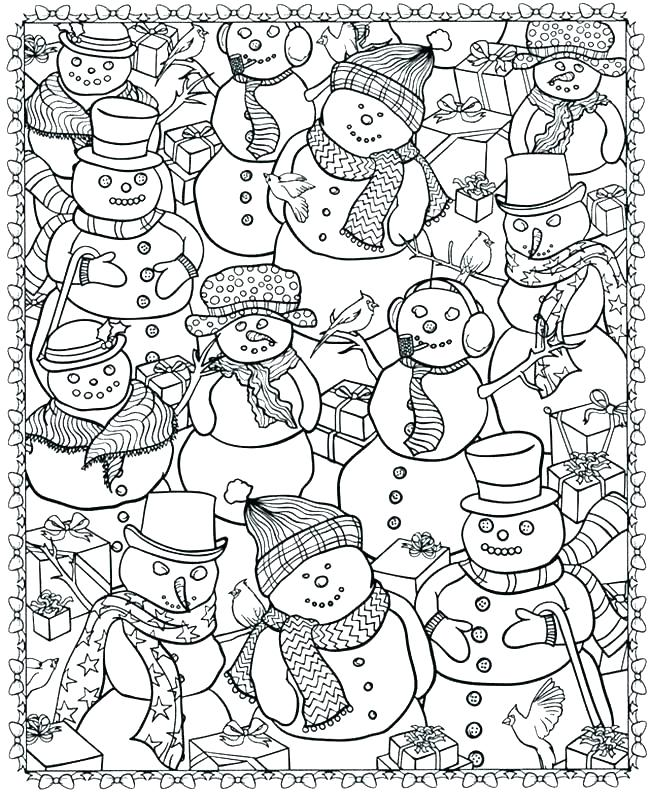 650x793 Printable Coloring Pages Winter Coloring Sheets Winter Winter
