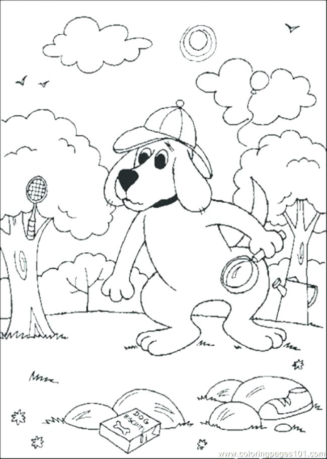 Detective Coloring Pages