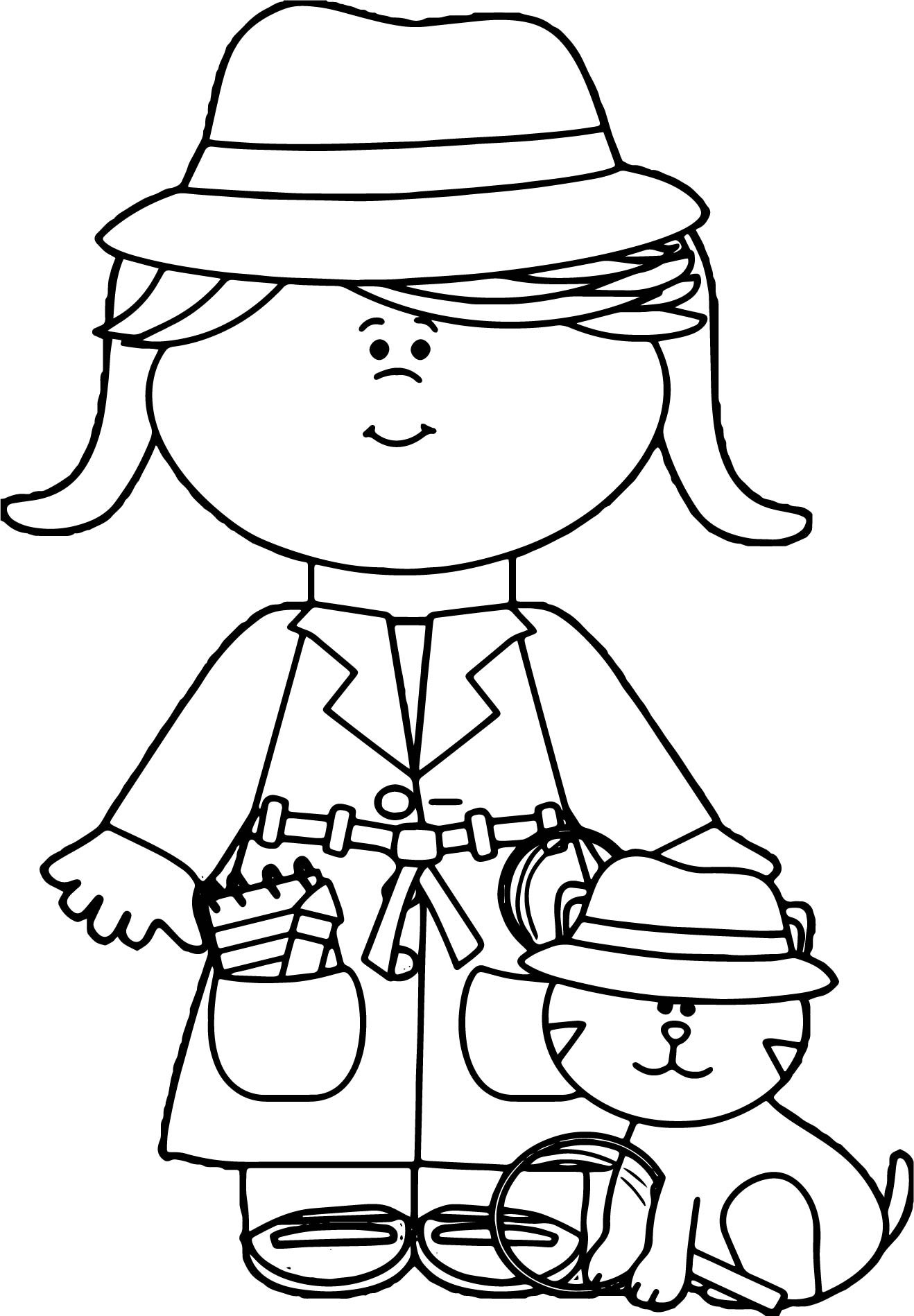 1318x1898 Fall Hat Coloring Page For Girls Unique Winter Clothing Coloring