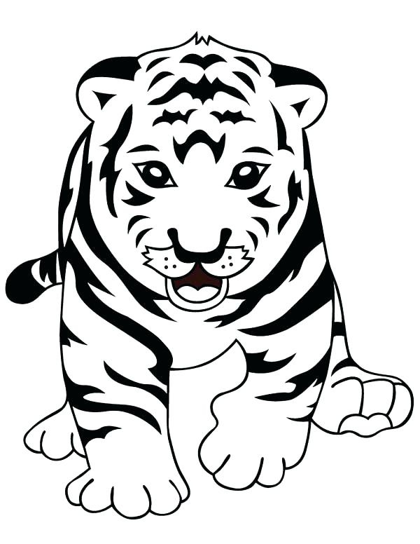 600x776 Detroit Tigers Coloring Pages Coloring Pages Of Tigers Tigers