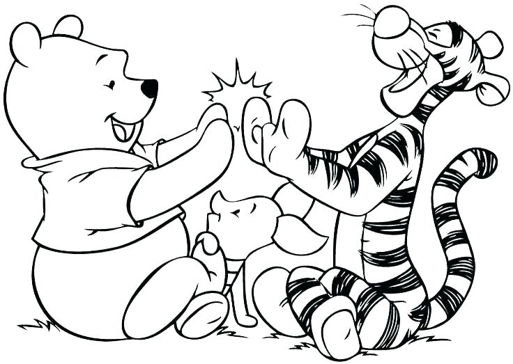 736x523 Tiger Coloring Pages Coloring Pages Tiger Coloring Page Color