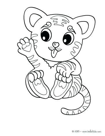364x470 Coloring Pagestiger Coloring Pages Detroit Tigers