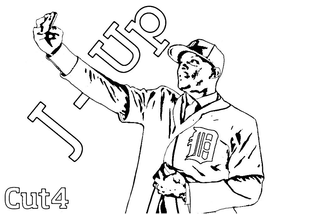 1024x682 Detroit Tigers Coloring Pages