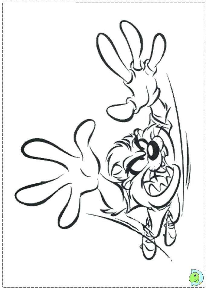691x960 Tasmanian Devil Coloring Pages Coloring Page Org Real Devil