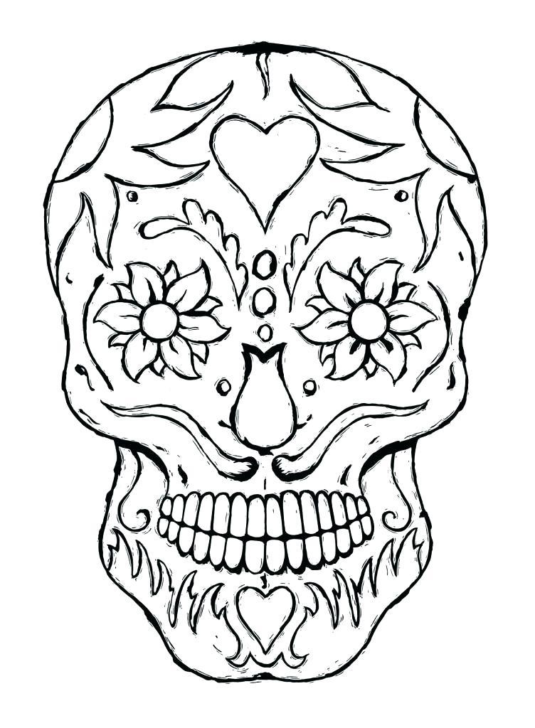 752x1024 Dia De Los Muertos Coloring Pages Grateful Dead Coloring Pages