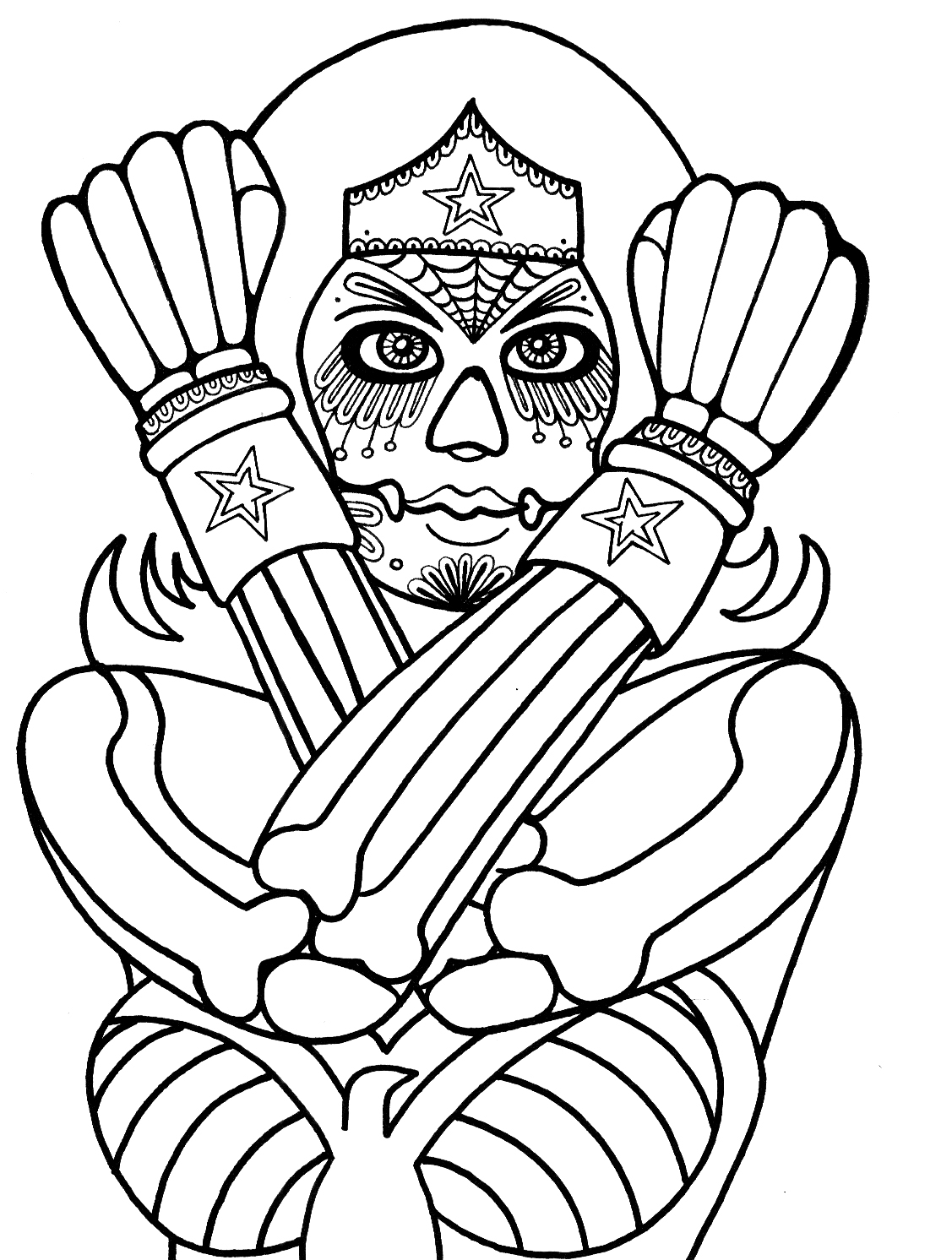 1127x1492 Yucca Flats, N M Wenchkin's Coloring Pages