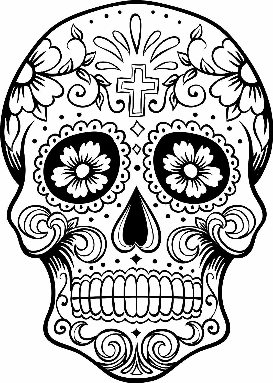 1067x1500 Dia De Los Muertos Coloring Pages Just Colorings